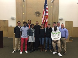 AP U.S. History Students Attend Naturalization Ceremony