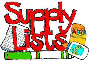 Barton Elementary Supply Lists