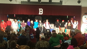 Barton's Drama Class Performs 12 Days of Christmas
